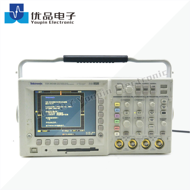 Tektronix泰克 TDS3034B 数字荧光示波器